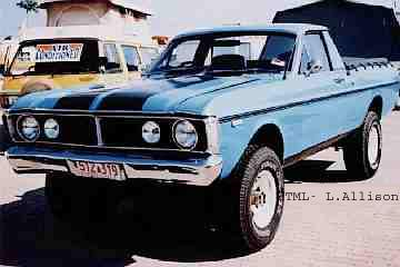 Ford Falcon XY four wheel drive (4x4)
