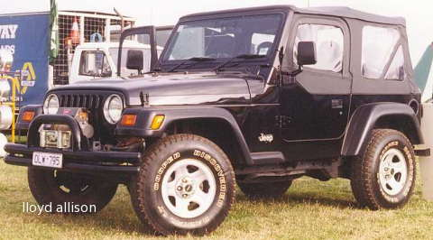 Black Soft Top 1998