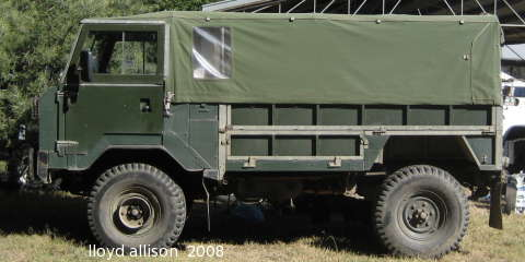 Land-Rover 101, the Military Forward Control LandRover and
