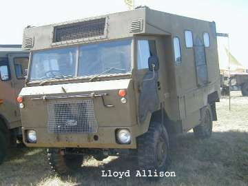 Land-Rover 101, the Military Forward Control LandRover and Powered