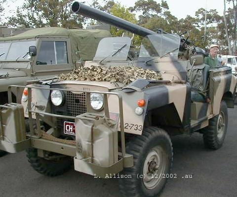 This SIIA Australian Army Land-Rover 88