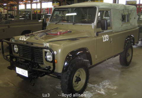 Landrover Perentie 4x4 And 6x6 Designed For The