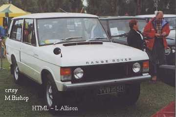 Range Rover 4x4 By Land Rover