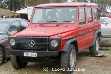 Mercedes Benz Gelaendewagen G Wagen